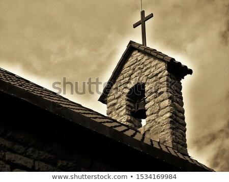 Misión iglesia abandonado edad Vilnius Foto stock © Taigi
