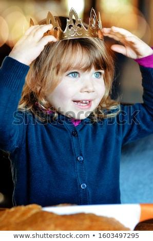 Korony uroczystości brązowy składnik sezonowy Zdjęcia stock © M-studio