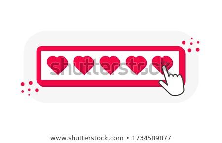 ontwerp · valentijnsdag · liefde · romantiek · iconen · patroon - stockfoto © serebrov