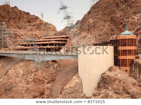 Hoover Dam látogató központ Nevada elektomos erő Stock fotó © Rigucci