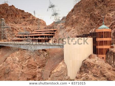 Hoover Dam visitante centro Nevada elétrico poder Foto stock © Rigucci