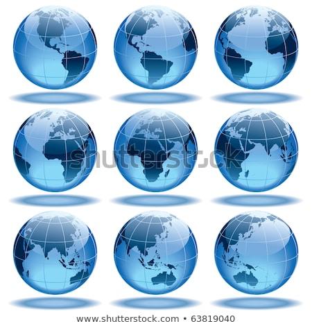 globo · cidadão · vetor · terra · eps10 · papel - foto stock © pinnacleanimates