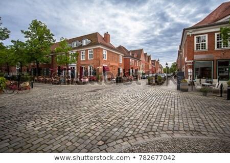The dutch quarter in Potsdam Stock photo © elxeneize