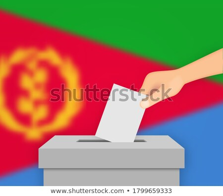 Ballot box Eritrea Stock photo © Ustofre9