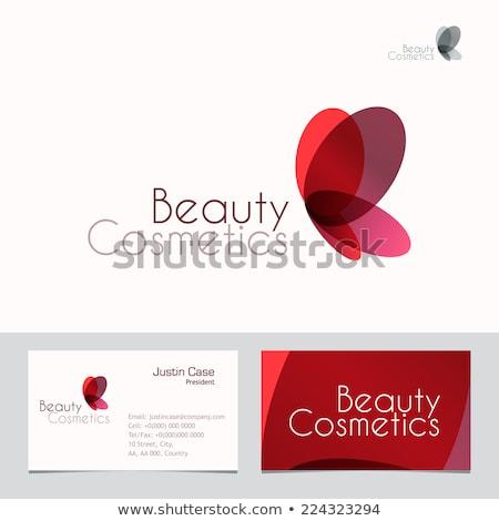 schoonheid · vrouwen · icon · logo · sjabloon · meisje - stockfoto © mcherevan