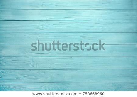 Blue wood background Stock photo © homydesign