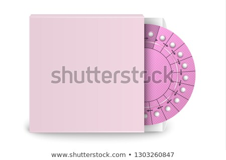 Oral contraceptive pill blister box Stock photo © ironstealth
