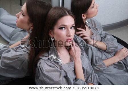 ストックフォト: ルックス · 幻想的な · ドレス · スタジオ · 肖像 · 美しい