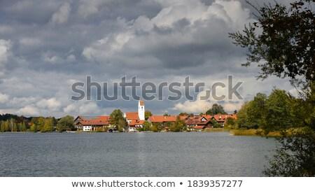 Lake Riegsee in Bavaria Stock photo © manfredxy