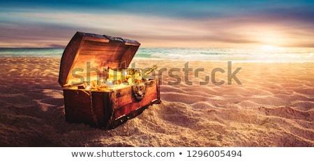 пляж иллюстрация морем океана окна Сток-фото © adrenalina