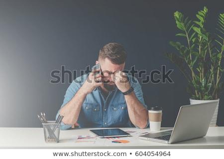 Sad businessman  Stock photo © deandrobot