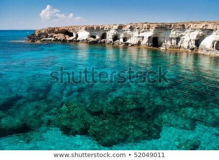 gibraltar · rocha · mediterrânico · mar · íngreme · penhasco - foto stock © kirill_m