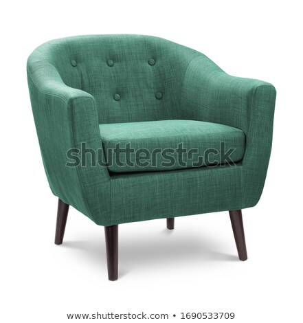 Stok fotoğraf: Yeşil · sandalye · mobilya · örnek · beyaz · dizayn