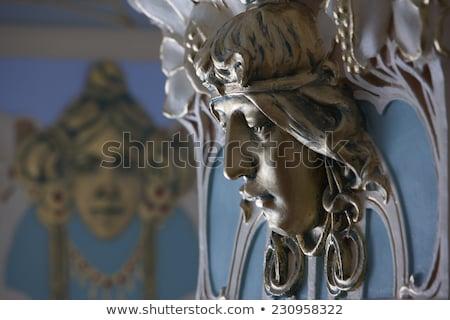 アールヌーボー アーキテクチャ リガ ラトビア 北方 ヨーロッパ ストックフォト © amok