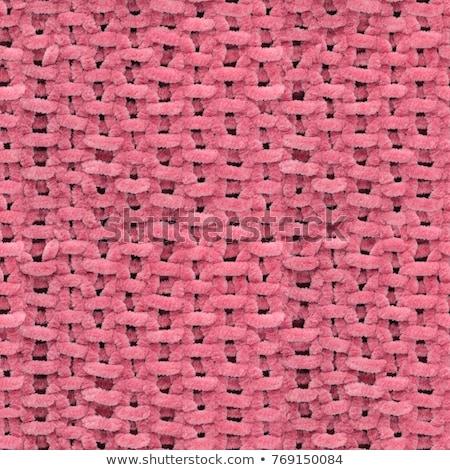 large detailed fabric texture regular background Stock photo © Studiotrebuchet