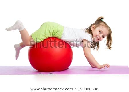 детей, играющих ребенка дизайна фон искусства мальчика Сток-фото © bluering