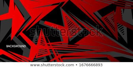 красный аннотация темно свет дизайна искусства Сток-фото © kurkalukas