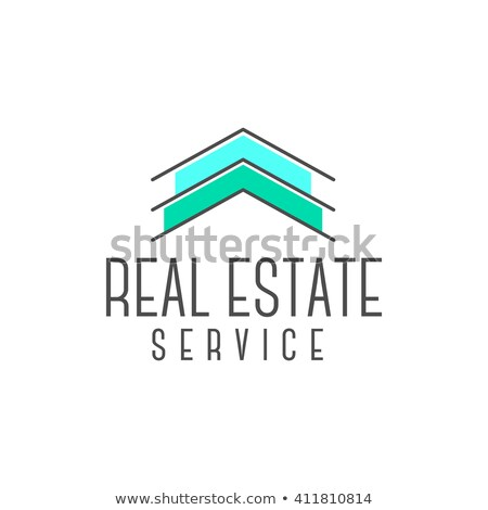 Vector real estate logo design, realtor icon suitable for info graphics, websites and print media. , Stock photo © JeksonGraphics