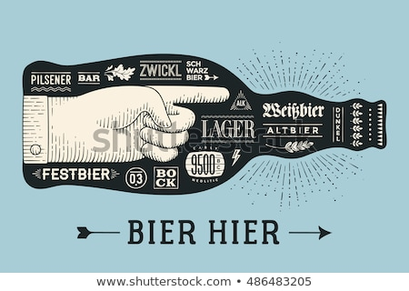 Octoberfest. Holiday Vector Illustration Stock photo © sdmix