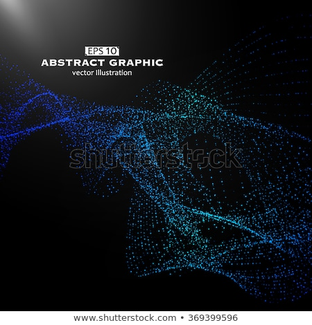 abstract technology background composed of dots mesh Stock photo © SArts