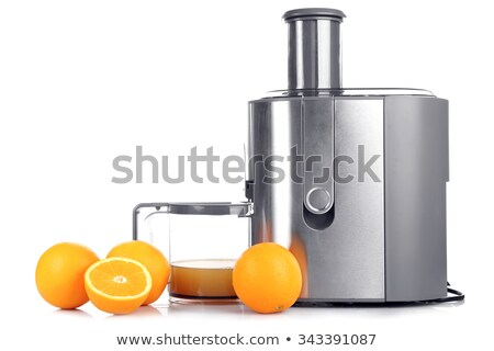 plastic citrus juicer isolated on white  Stock photo © jirkaejc