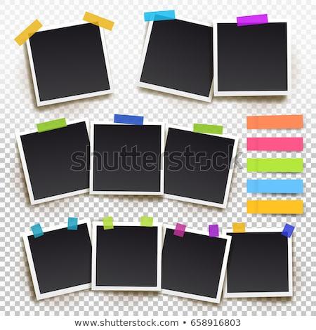 encyclopedie · ingesteld · 10 · zwaar · boek · zwarte - stockfoto © benchart