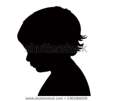 profil · bebek · çocuk - stok fotoğraf © JamiRae