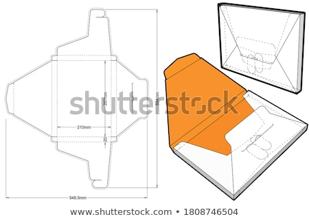 File Card with Production. Stock photo © tashatuvango