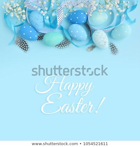 イースター · カード · 装飾された · 卵 · クリスチャン - ストックフォト © tasipas