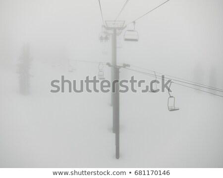 Esquiar dente Califórnia EUA neve inverno Foto stock © IS2