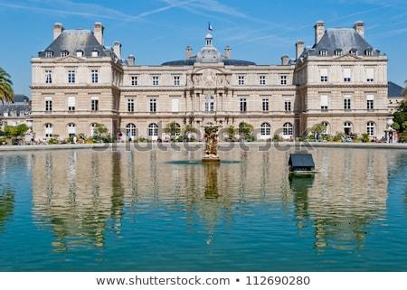 Luxemburgo palácio França belo parque verão Foto stock © Givaga