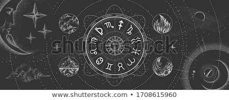csillag · feliratok · állatöv · horoszkóp · asztrológia · ikon · gyűjtemény - stock fotó © krisdog