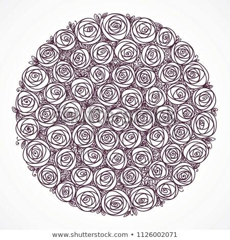 bağbozumu · model · güller - stok fotoğraf © essl