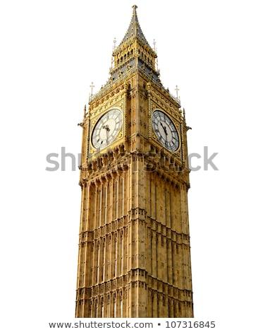 ロンドン ビッグベン 時計 コミック 漫画 ポップアート ストックフォト © rogistok