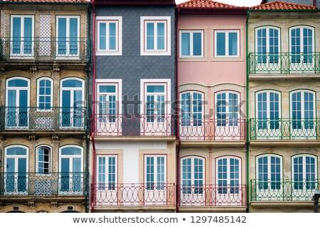 Típico arquitectura Portugal tradicional casa decorado Foto stock © joyr