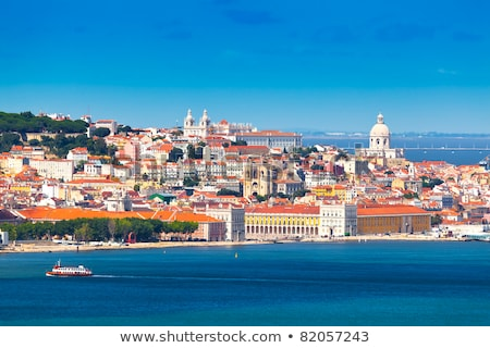 Lisbon to Almada ferry. Portugal Stock photo © joyr