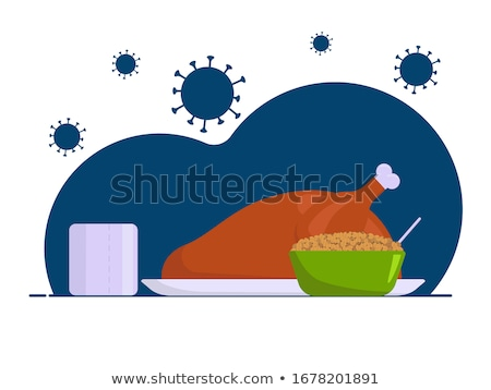 Sick Cartoon Cereal Stock photo © cthoman