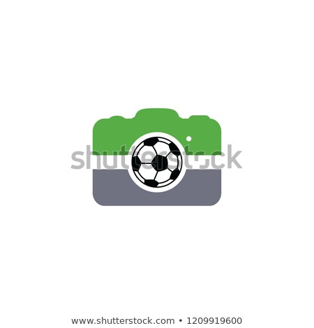 soccer football camera photography application Stock photo © vector1st