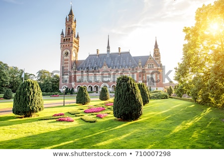 palace of peace in The Hague Stock photo © neirfy