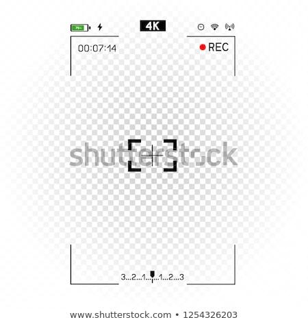 white phone camera vertical viewfinder Stock photo © romvo