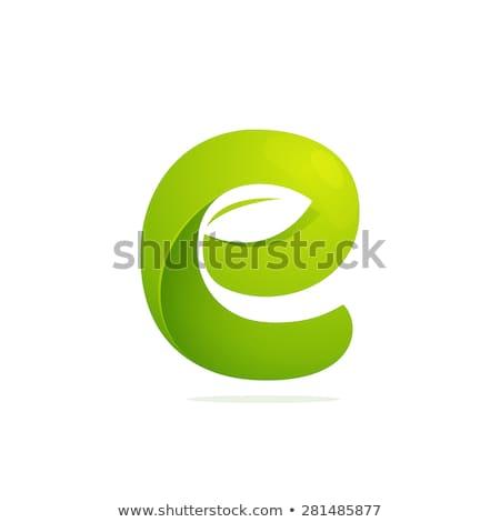 ロゴ ロゴタイプ 緑 手紙 にログイン ベクトル ストックフォト © blaskorizov