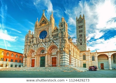 Siena Cathedral in Italy Stock photo © boggy