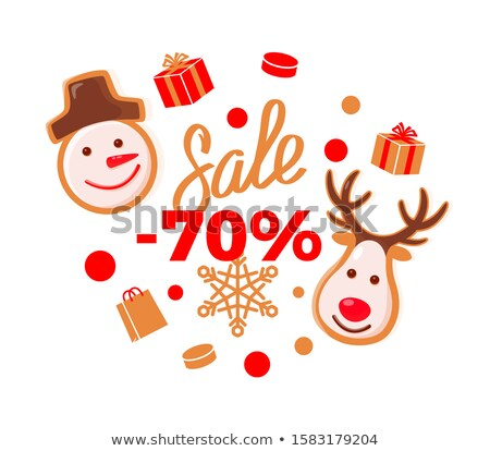 Sale 70 Percent Price More Half Off Reduced Cost Stok fotoğraf © robuart