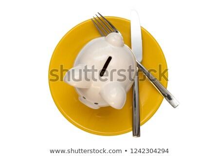 食べ 外に コスト ダイニング 経費 箸 ストックフォト © Lightsource