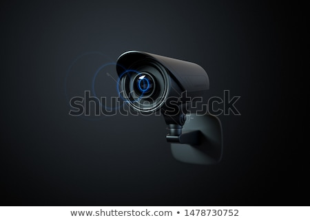 3d model of security camera Stock photo © magraphics