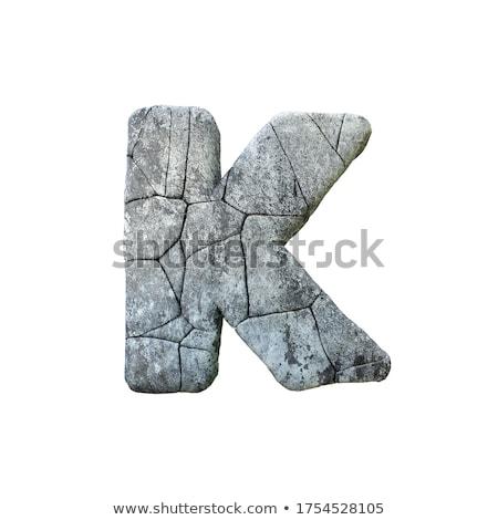 pedra · fonte · carta · 3D · 3d · render · ilustração - foto stock © djmilic