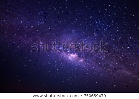 stars and galaxy Stock photo © magann