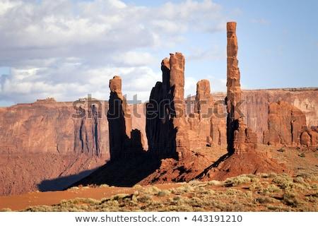 Zdjęcia stock: Słup · dolinie · parku · USA · podróży · rock