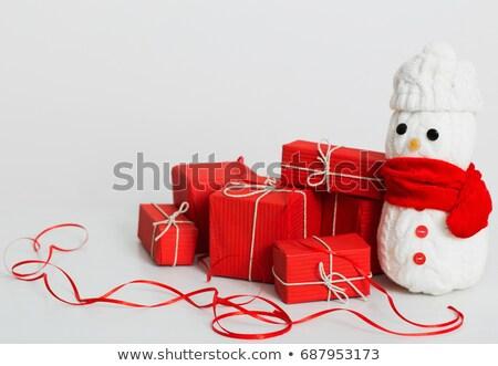 Gift and new year's embellishment  Stock photo © RuslanOmega