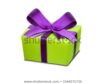Stock photo: Purple and green sale coupons